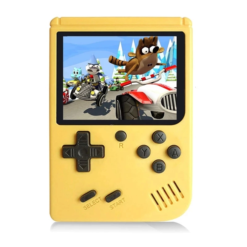 2021 Hot Rechargeable 400 in 1 Video Handheld Game Console Retro Game Mini Handheld Player for Kids Gift Built-in 400 Games