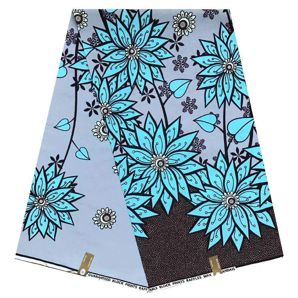Ankara African Wax Print Fabric African Print Fabric High Quality Ankara Fabric 2019 Tissue Wax For Dresses African Fabric