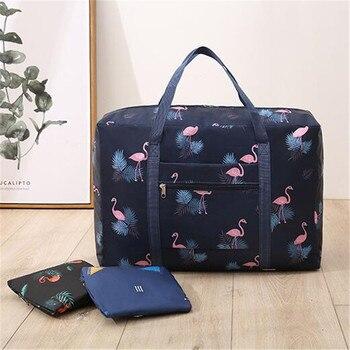 Waterproof Travel Bags Men Women Large Capacity Folding Duffle Bag Organizer Packing Cubes Clothing Storage Weekend Luggage Bag