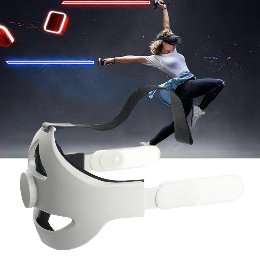 Ajustável para oculus quest 2 cinta de cabeça vr elite conforto melhorar suporte correia de realidade, aumento virtual ac f7e0