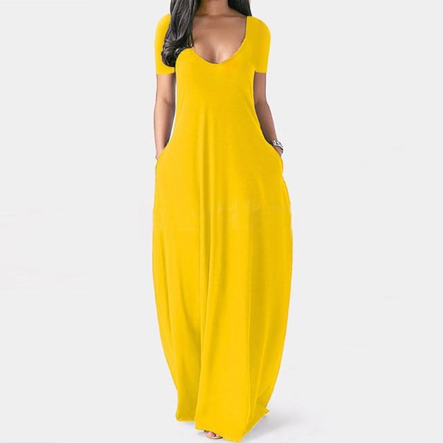 Plus Size 5xl Sexy Women Dress Summer 2021 Solid Casual Sleeveless Maxi Dress For Women Long Dress Dropshipping Lady Dresses 4