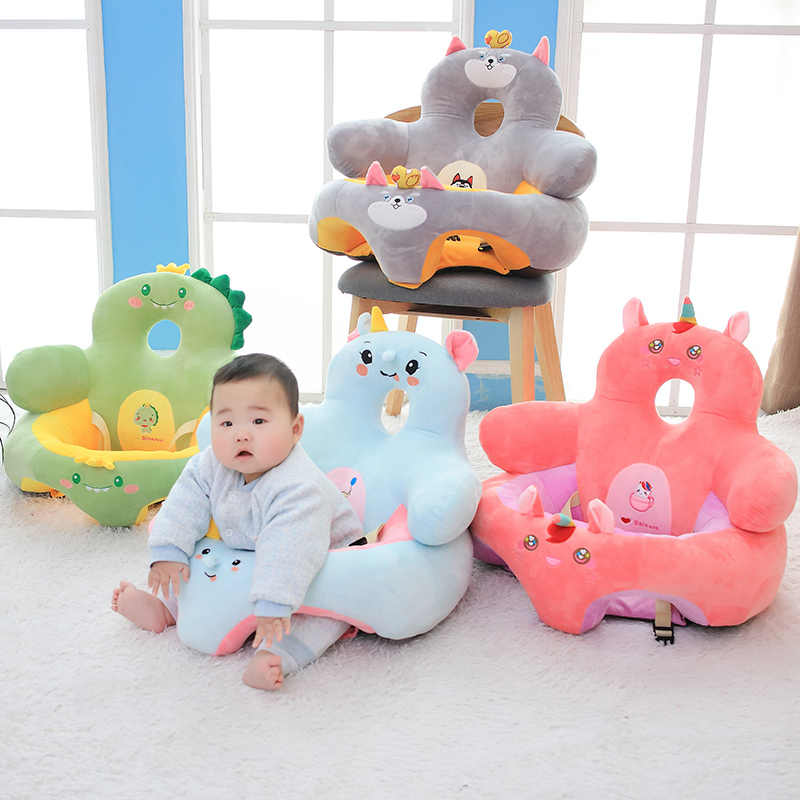 Puppy Makes Mischief Stuffed Animal, Hot Nice Infant Toddler Kids Baby Support Seat Sit Up Soft Chair Cushion Sofa Plush Pillow Toy Animal Pig Penguin Unicorn Deer Stuffed Plush Animals Aliexpress