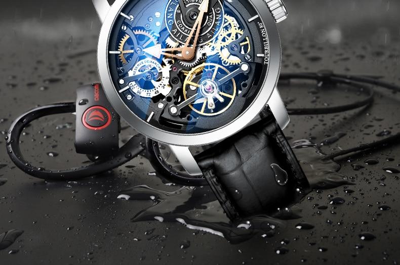 Hac200f0991d0409f81efed0646a227acQ AILANG Original design watch automatic tourbillon wrist watches men montre homme mechanical Leather pilot diver Skeleton 2019