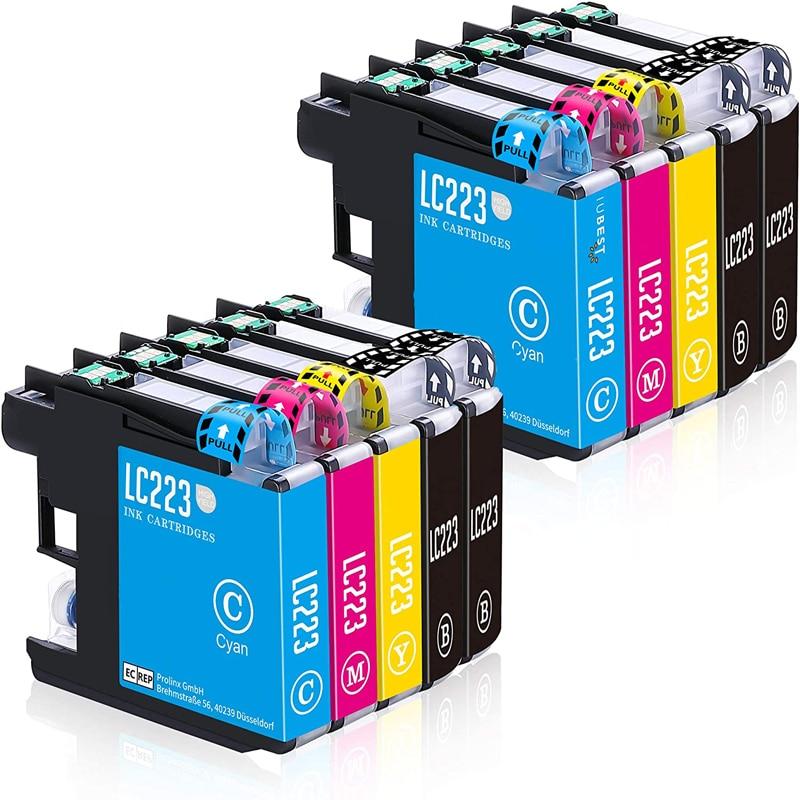 Befon LC223 совместимые картриджи для Brother DCP-J4120DW DCP-J562DW MFC-J5320DW J880DW J5620DW J5625DW J680DW J4625DW