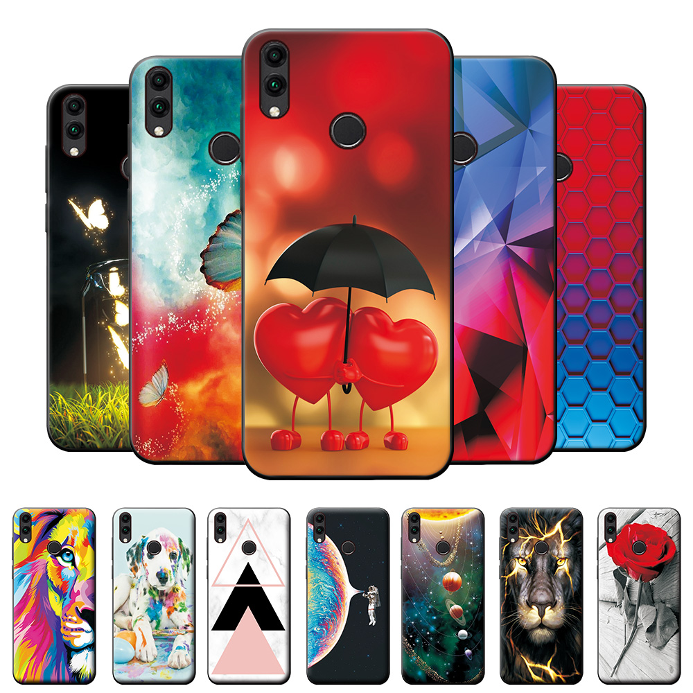 Case on Honor 10 Lite Case Cover 6.21 inch on Honor 10Lite 10 Lite TPU Bumper Bag For Huawei Honor 10 Lite HRY-LX1 Silicone Case