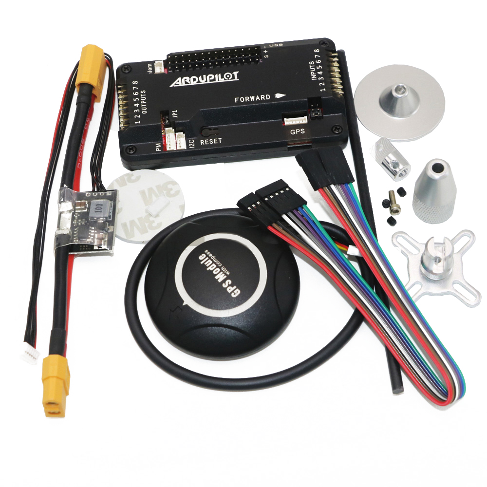 APM 2.8 ArduPilot Mega APM Flight Controller with 7M GPS For FPV Rc Drone RC Airplane Part image