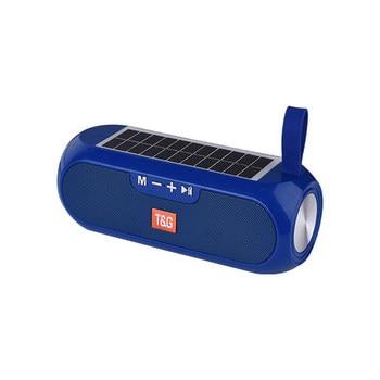 Solar charging Bluetooth Speaker Portable Column Wireless Stereo Music Box Loudspeaker Outdoor Waterproof altavoces 11
