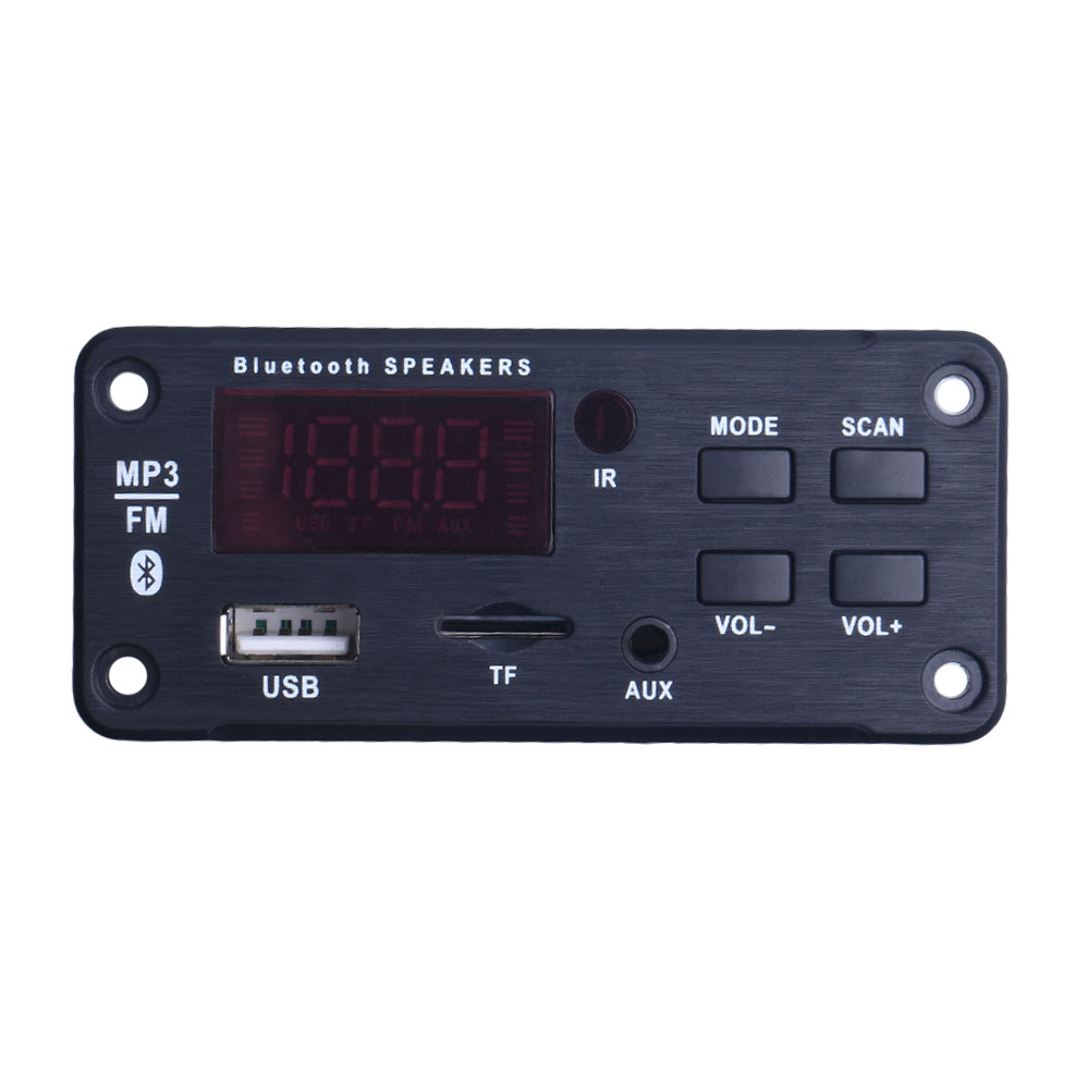 Newest Bluetooth MP3 WMA Decoder Board Wireless Audio Module Support USB TF AUX FM Audio Radio Module For Car accessories