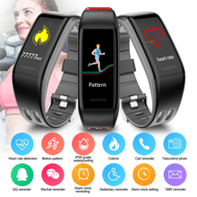 T30 Smart Bracelet Sport Fitness Tracker HD Color Screen Heart Rate Blood Pressure Monitoring Bluetooth Band