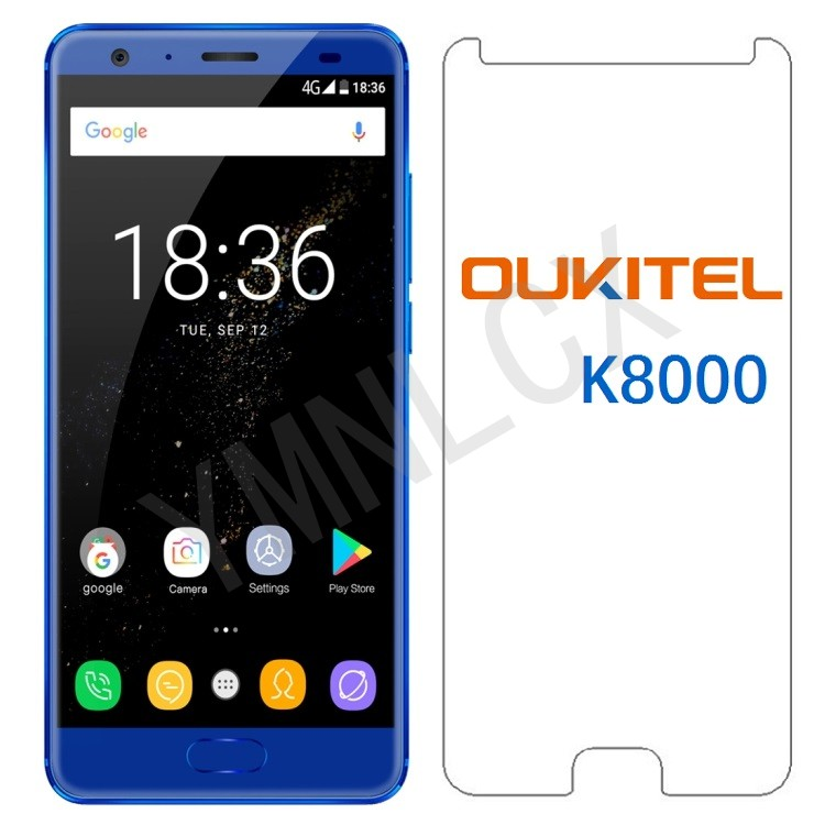 2.5D Tempered Glass For <font><b>Oukitel</b></font> <font><b>K8000</b></font> Protective Film For <font><b>Oukitel</b></font> <font><b>K8000</b></font> 9H Explosion-proof LCD <font><b>Screen</b></font> Protector image