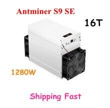 Asic Neue AntMiner S9 SE 16TH/S Bitcoin BCH BTC Miner Besser Als S9 13,5 t 14t S9j 14,5 t S9k S11 S15 S17 T9 + T17 WhatsMiner M3
