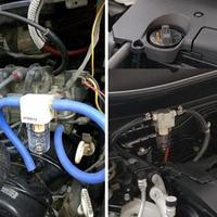 Filter Verunreinigungen Universal Gas Motor Öl Separator Mini Auto Stecker Rohr Werkzeug Tank Können Auto Zubehör Fangen Reservoir-in Ölfilter aus Kraftfahrzeuge und Motorräder bei
