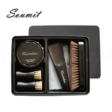 Shoes Care Kit Portable for Boots Sneakers Cleaning Set Polish Brushes Shine Polishing Tools Leather Shoes Cleaning Accessories
