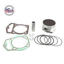69MM 17MM segments de Piston Kit de joint CB250 250CC 169FMM ZongShen Shineray Kaya Xmotos Apollo orion saleté Pit motos pièces(China)