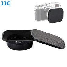 Square Metal Camera Lens Hood for Fujifilm X100V X70 X100 X100S X100T X100F Protector Adapter Ring Compatible 49mm Filter Cap