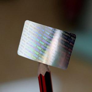 Image 1 - Hologram 20x30mm srebrne naklejki holograficzne puste naklejki