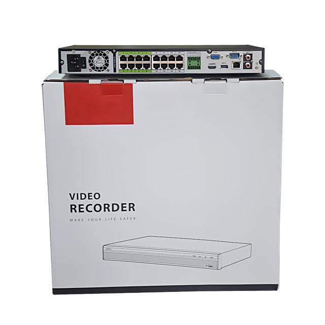 Dahua Pro 16CH NVR NVR5216-16P-4KS2E Port bidirectionnel parler e-poe 800M MAX 16CH POE enregistreur vidéo réseau