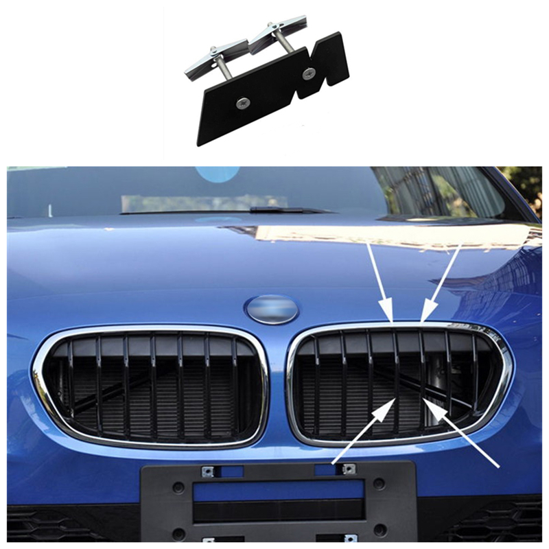 รถตกแต่งด้านหน้าสติกเกอร์สัญลักษณ์ Trunk M 3D Badge อุปกรณ์เสริมสำหรับ BMW M2 M3 M4 M5 M1 X1 x3 X5M X6M