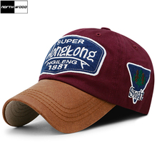 Dad Hat Baseball-Cap NORTHWOOD Fitted-Cap Gorra Letter Embroidery Fashion Snapback Women