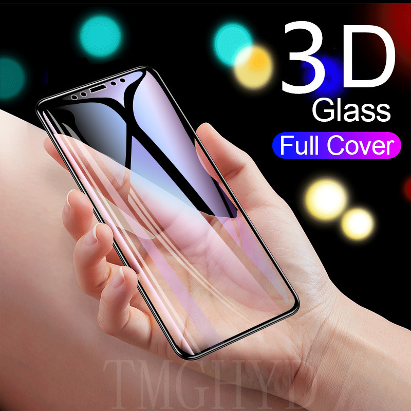 3D Full Coverage Cover Tempered Glass For iPhone 7 8 6s 6 Plus X XS MAX 11 Pro Max XR 11 Promax Screen membrane Glass Film(China)