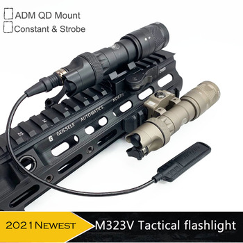 Tactical Light M323V Scout Light Constant & Strobe LED 500 Lumens with ADM Mount for Rifle Hunting Flashlight 1
