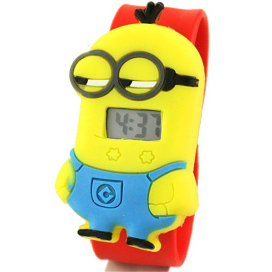 3D Eye Cartoon Digital Led Watch For Kids Waterproof Children Watches Boys Girls Toy Gift
