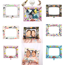 Birthday Frame Balloons Birthday Party Balloons Baby Shower Decorations Kids Favors Wedding Anniversary Party Foil Balloons foil number balloons birthday party decorations holiday diy decoration kids baby shower wedding decoration balls 40inch