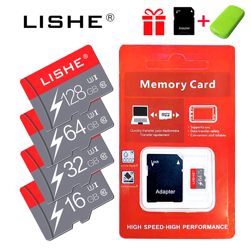 Real capacity Micro SD Memory Card 8GB 16GB 32GB Class 10 for phone Micro SD Card flash memory 64GB 128GB pendrive usb flash image