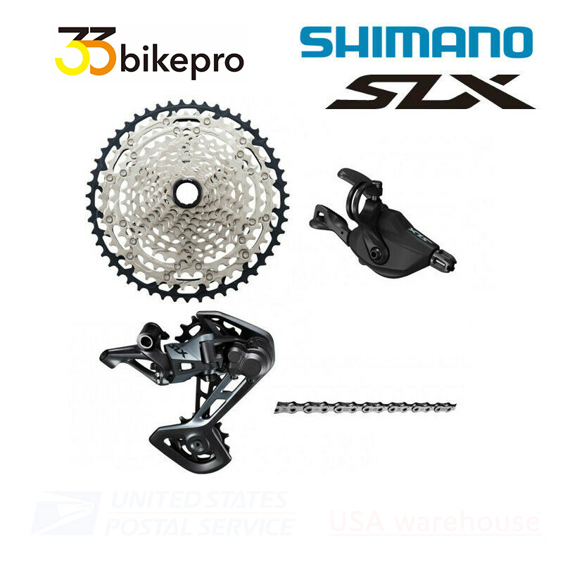 New Shimano SLX M7100 12 Speed Drivetrain Groupset 51T Cassette OE