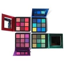 9 Colors Eyeshadow Palette Long Lasting Waterproof Sweatproof Beauty Makeup Shiny Cosmetic Tools