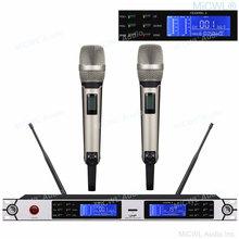 100% подлинный micwl skm9000 2 ручной беспроводной микрофон