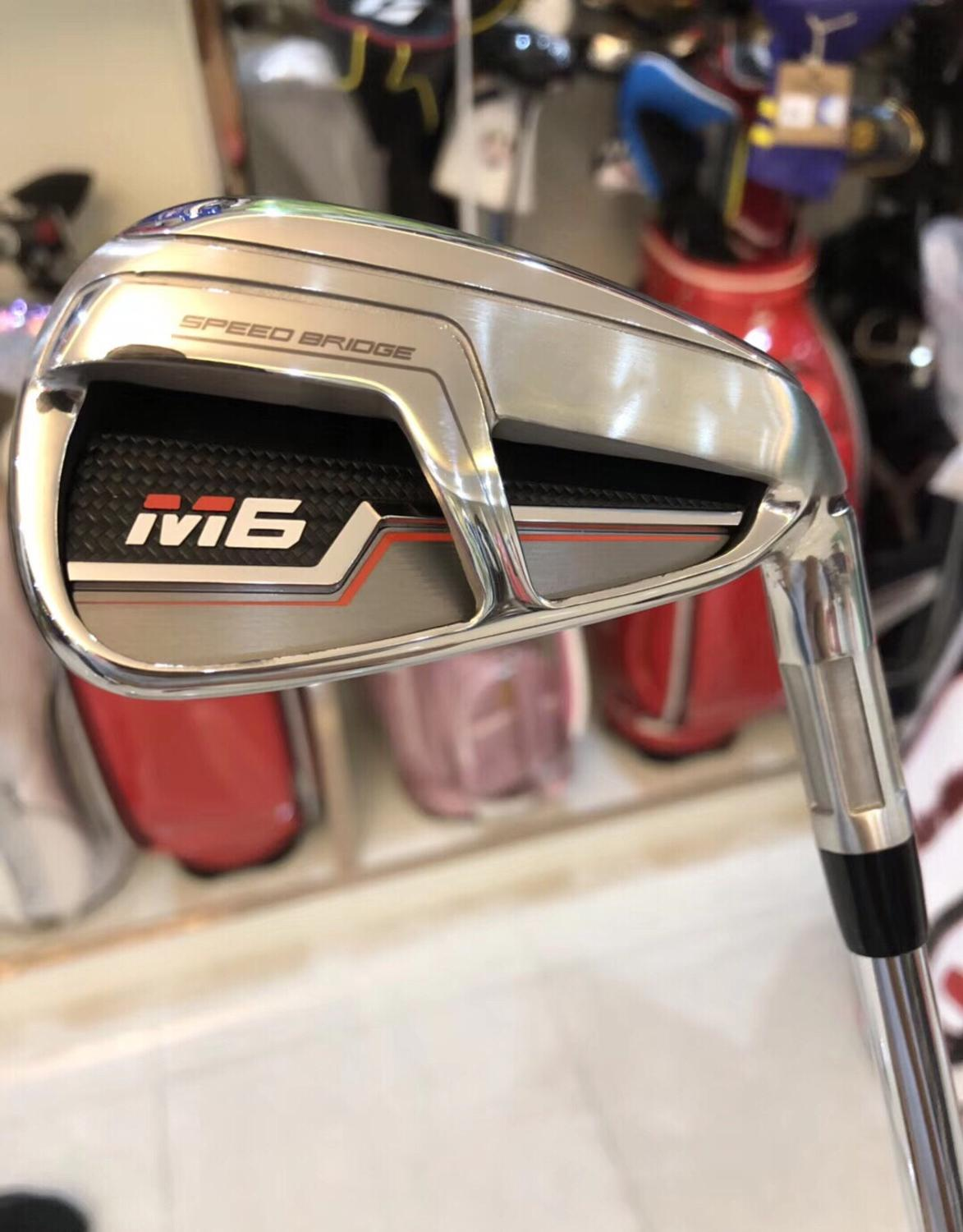 Brand New M6 Iron Set M6 Golf Irons M6 Golf Clubs 456789PS(8PCS) R/S Flex Steel/Graphite Shaft With Head Cover