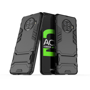 Phone Case For OPPO Ace2 F9 Pro Cover TPU & PC Holder Shockproof Housings Hard Bumper For OPPO Ace 2 F9 Case Funda Etui