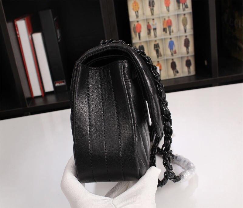 Женская сумка через плечо, портфель из натуральной кожи с узором «крокодиловая кожа», женская сумка мессенджер, женская сумка, черный/красн... - 3