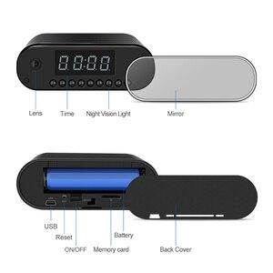 Image 3 - มินิกล้อง IP กล้องมินิกล้อง WiFi microcamera minicamera 1080P นาฬิกาปลุกรีโมทคอนโทรล Micro Night Vision