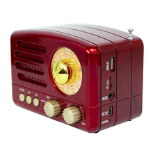 Taşınabilir Bluetooth radyo FM AM manuel anten ile Mini USB şarj el hafif yüksek hassasiyetli TF kart yuvası hoparlör