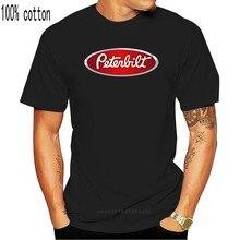 Novo caminhão clássico logotipo maniac peterbilt motosport caminhoneiro t camisa s-3xl manga curta 100% algodão homem camisetas