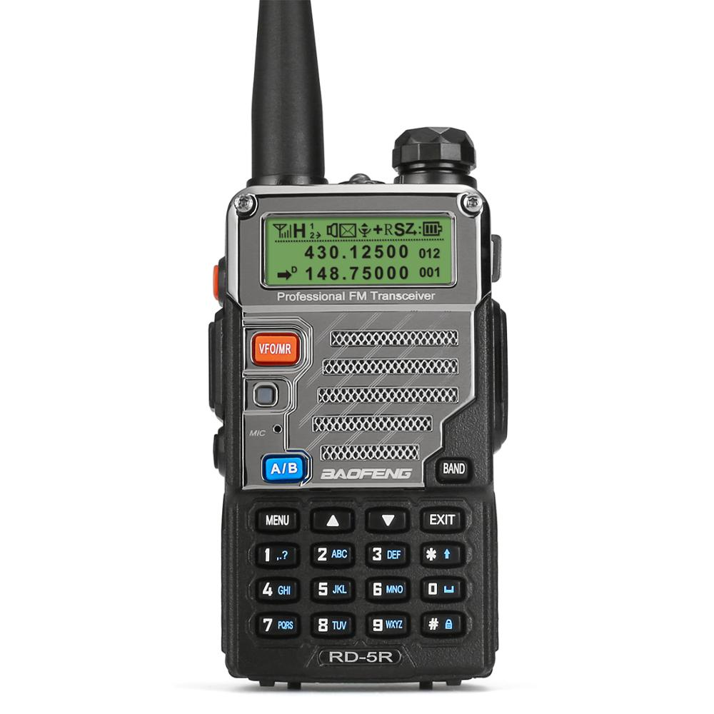 Baofeng Walkie-Talkie Ham-Transceiver Dual-Band Two-Way-Radio Digital RD-5R II VFO Dmr-Tier