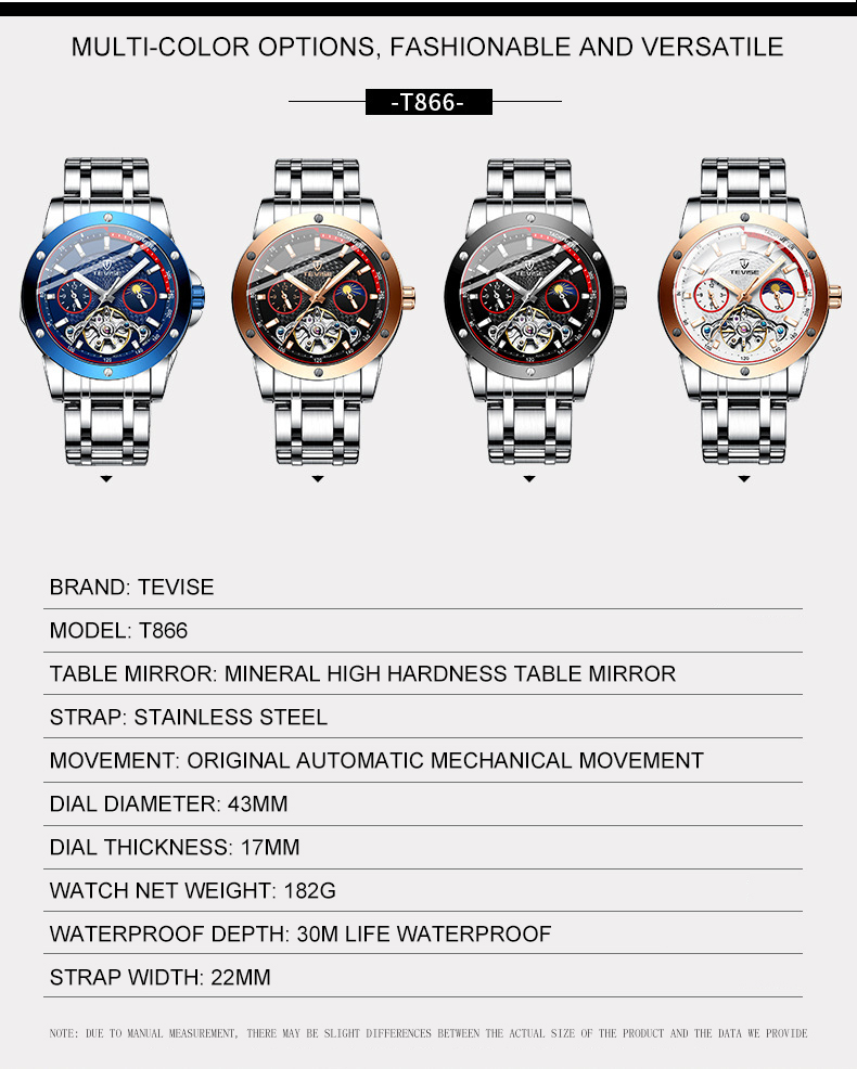 relógio mecânico tourbillon movimento relógio de luxo