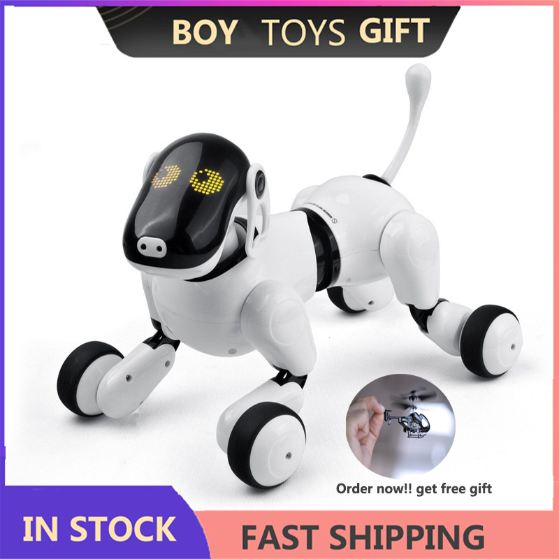 Electronic Robot Electronic Pet Dogs Remote Control Smart Wireless Intelligent Talking Robot for Kids Dog Toys
