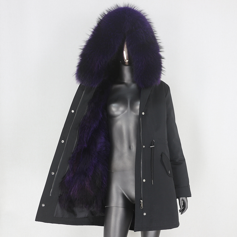 black purple D
