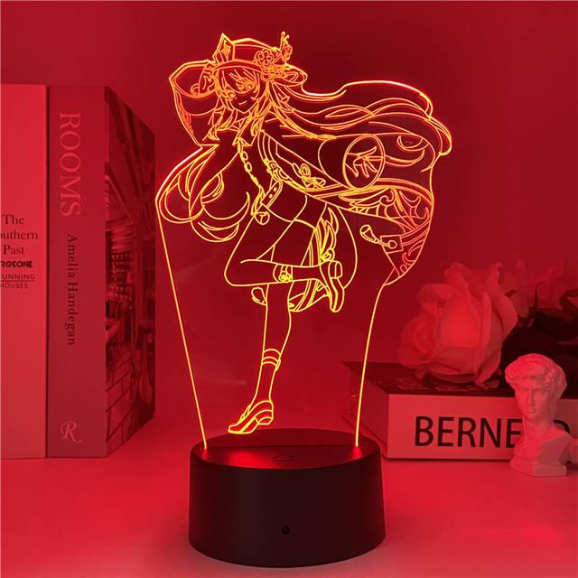 GENSHIN IMPACT THEMED 3D LED LIGHT (11 VARIAN)