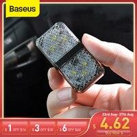 Baseus-자동차 도어 개방 안전 경고등, 6 개 led, 충돌 방지 플래시, 무선 자기 경보 신호 램프 조명, 2 개입