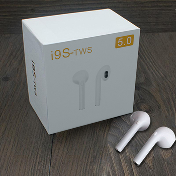 i9s TWS Earbuds Mini Wireless Bluetooth Earphones Headsets Stereo Super Bass Earbuds Wireless for IPhone Huawei Samsung Xiaomi