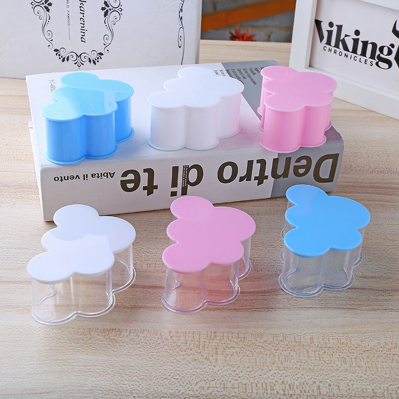 12pcs/Lot Transparent Plastic Candy Box For DIY Wedding Candy Boxes Baby Shower Birthday Guests Gift Box Cloud Accessory Contain