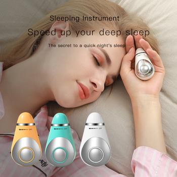 USB ładowanie mikroprądowe snu gospodarstwa pomoc w leczeniu zaburzeń snu Instrument nadmiarowy ciśnienia urządzenie snu hipnoza instrument masażu i relaks tanie i dobre opinie efero CN (pochodzenie) Support