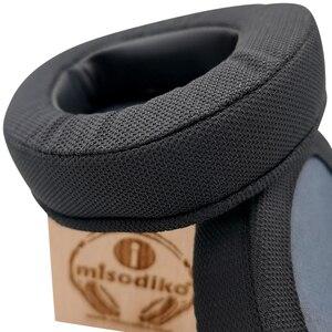 Image 4 - Misodiko substituição almofadas de ouvido almofada kit para asus rog delta gaming headset, fones de ouvido peças de reparo earpads (preto)
