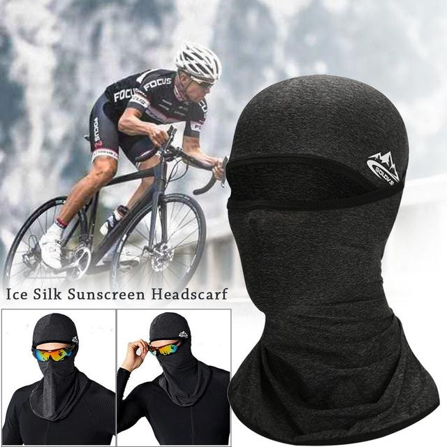 Unisex Outdoor Motorcycle Riding Face Mask Cover Cool Seamless Mask Multifunctional Sports Anti-fall Magic Headscarves Drop Ship 3