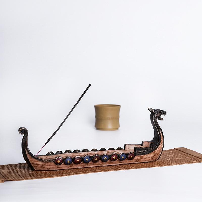 Dragón barco incienso palo soporte quemador tallado a mano adornos de incensario decoración del hogar mejor regalo Feng Shui 6 unids/lote atrapasoles de cristal Feng Shui prismas colgante péndulo colgante decoración de ventana 20mm