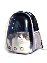 Cat Backpack Transparent Space Capsule Shoulder Bag Pet Outside Travel Portable Carry British Shorthair Windproof